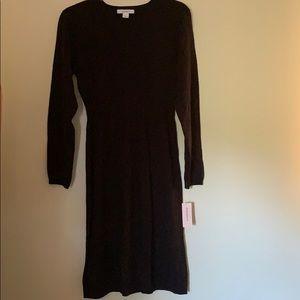 BNWT long sleeve knit sweater dress